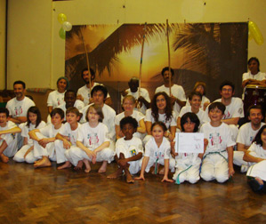Capoeira Agora students after the grading 2012