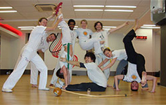 Capoeira Agora 'live sculpture' May 2013